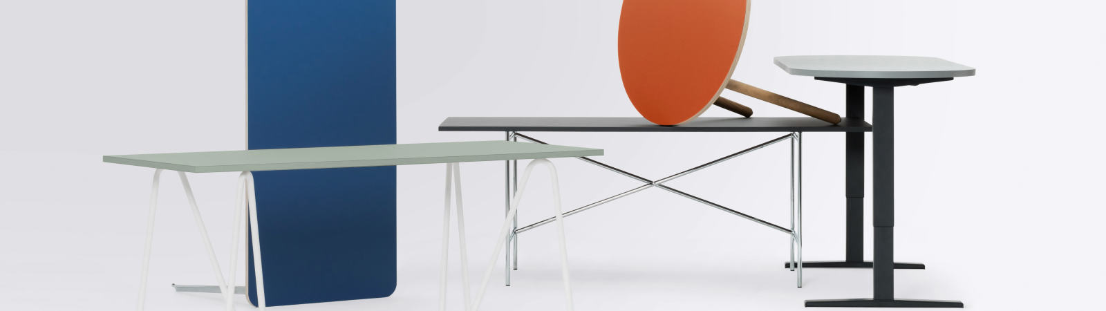 Tables & Trestles, Table bases, Lino Table Top, Table base, Table legs, Custom model, Desktop, Custom linoleum table tops