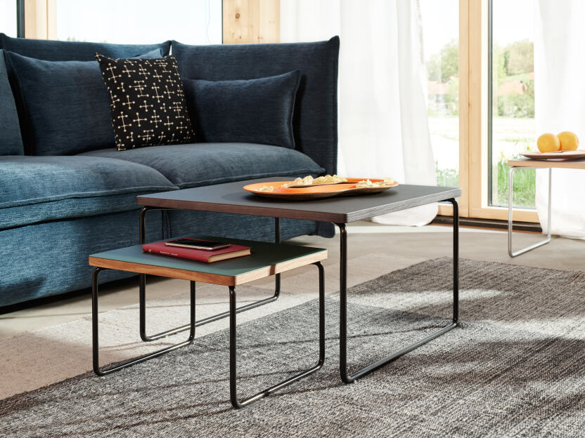 2018 – Low and Lower lino side table designed by Michel Charlot