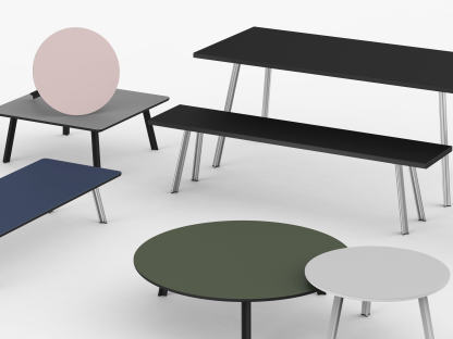 Beam Bench, Seating Systems