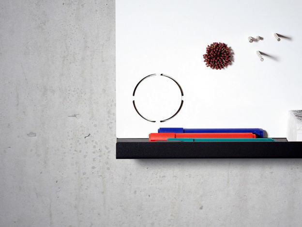 Magnetic pinboard designed by Michael Anton Kastenbauer