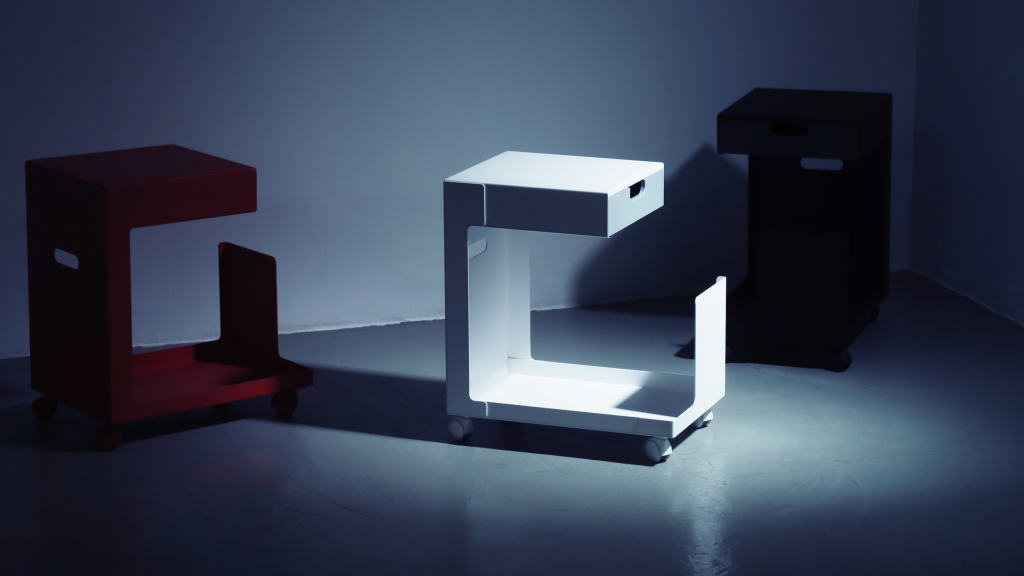 Ed Rollcontainer By Daniel Lorch Buro Zuhause Faust Linoleum