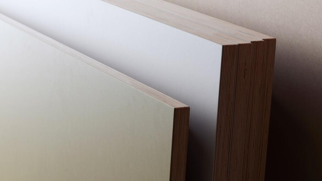 Linoleum Tischplatte Multiplex massiv by Faust Linoleum