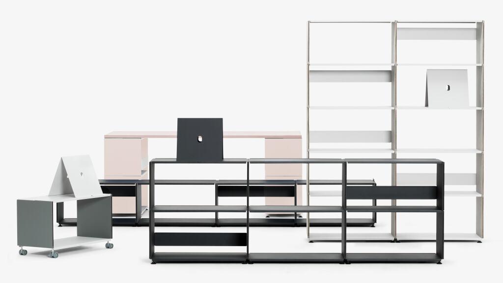 This Fits To Our Tables U2013 PLUSMINUS, The Modular Linoleum Shelf.